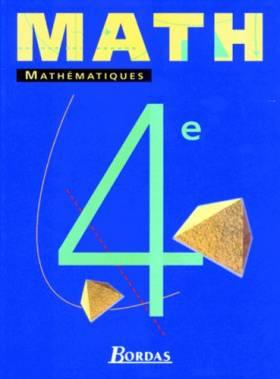 Serra - Mathématiques : 4e. Manuel de l'élève