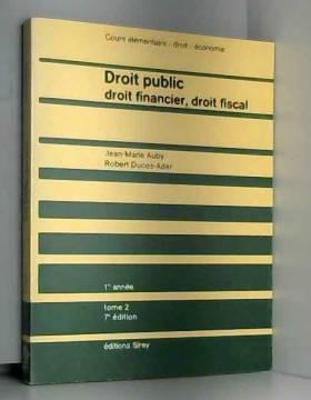 Droit public (Cours...