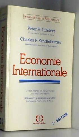 Économie internationale...