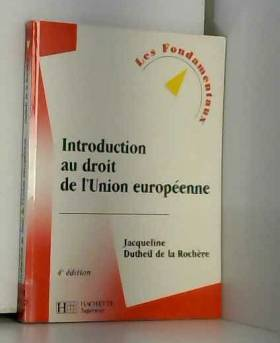 Introduction au droit de...