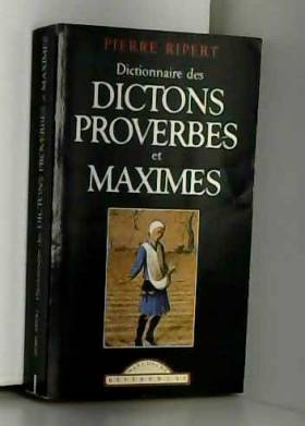 Dictionnaire des maximes,...