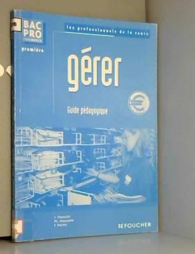 Gérer Bac Pro commerce :...