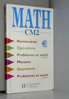 Maths, CM2. Elève