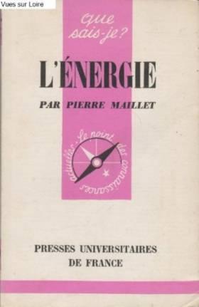 Pierre MAILLET - L'énergie