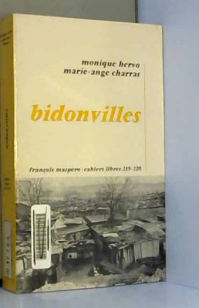 Bidonvilles.