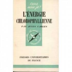 L'energie chlorophyllienne