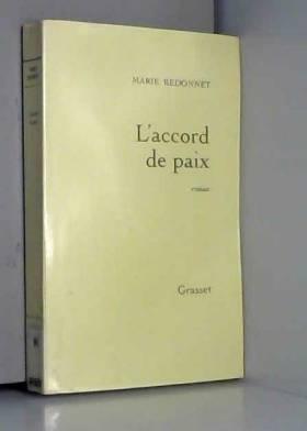 Marie Redonnet - L'Accord de paix
