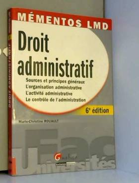 Droit administratif :...