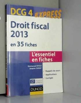 Droit fiscal - DCG 4 - 2013...