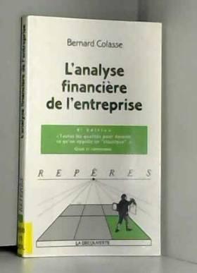 L'analyse financière de...