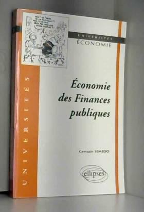 Economie des finances...