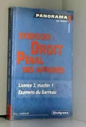 Exercices : Droit Pénal des...