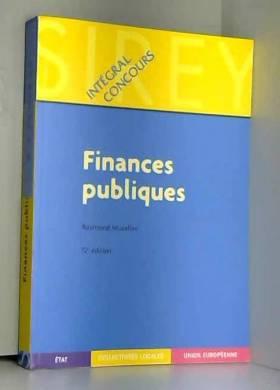 Finances publiques, 12e...