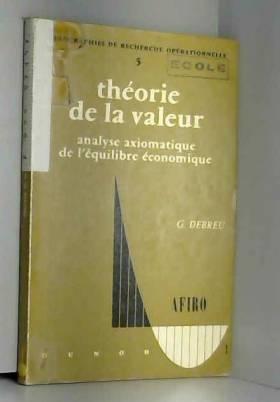 Théorie de la valeur :...