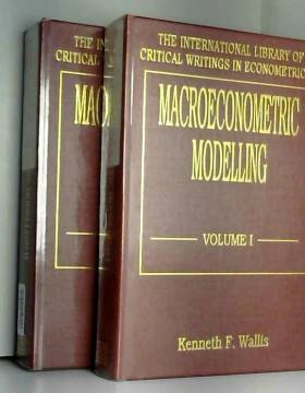 Kenneth F. Wallis - Macroeconometric Modelling