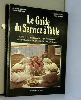 Le Guide du service à table