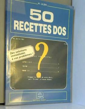 50 recettes DOS