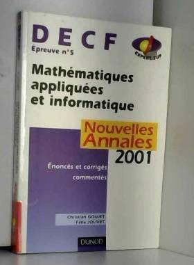 Mathématiques appliquées et...