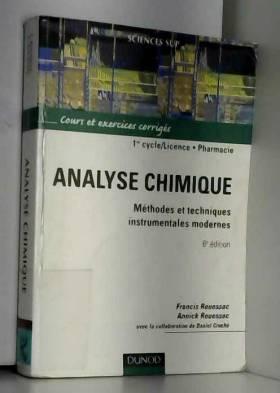 Analyse chimique : Méthodes...