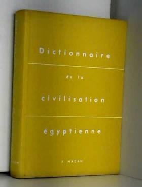 Posener - Dictionnaire de la civilisation égyptienne