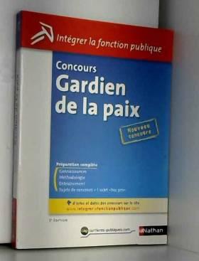 SYLVIE GRASSER et PASCAL JOLY - CONCOURS GARDIEN DE LA PAIX