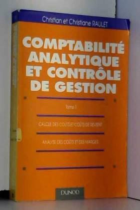 Comptabilité analytique et...