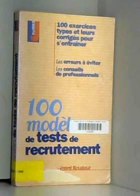 100 modèles de tests de...