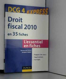 Droit fiscal DCG 4 - 2010 -...