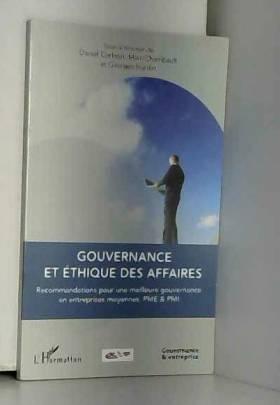 Gouvernance et Ethique des...