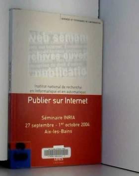 Publier sur Internet :...
