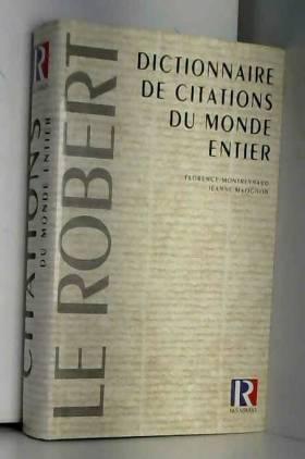 Dictionnaire de citations...
