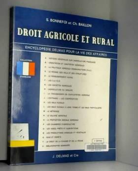Droit agricole et rural