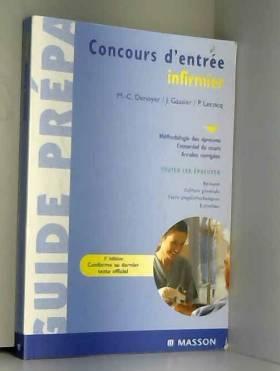 Denoyer, Gassier et Lecocq - Concours d'entrée infirmier
