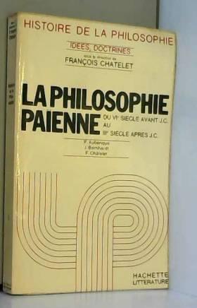 collectif - la philosophie paienne