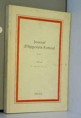Journal d'Hippolyte Fortoul...