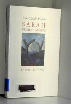 Sarah, feuille morte
