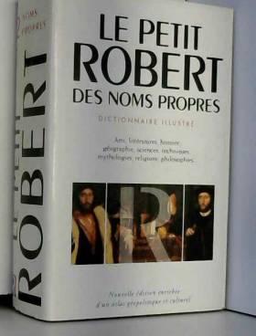 Le Petit Robert des noms...