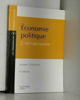 Économie politique 2 :...