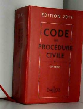 Code de procédure civile...