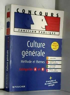Culture générale : Epreuves...