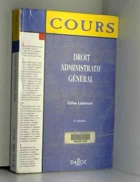 Gilles Lebreton - Droit administratif général