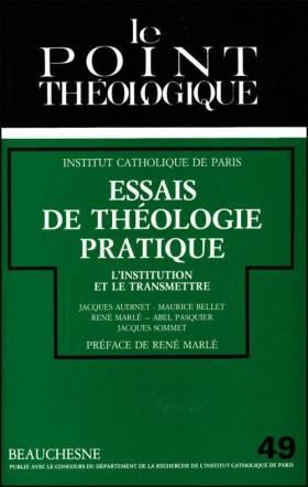 Essais de théologie...