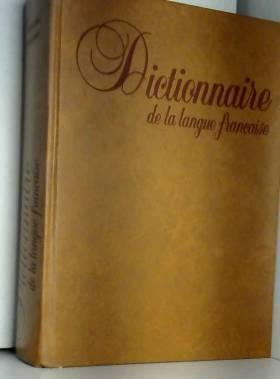 Dictionnaire : langue,...