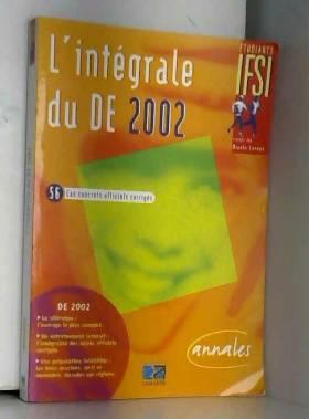 Intégrale du DE 2002 : 56...