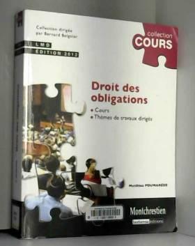 Droit des obligations 2012...