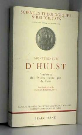 Monseigneur d'Hulst,...
