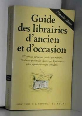 Guide des librairies...