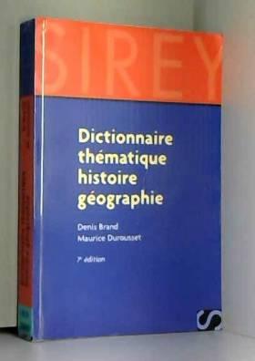Dictionnaire thématique...