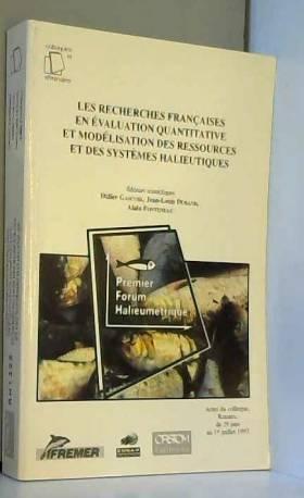 Les recherches françaises...