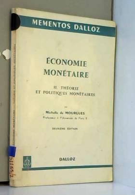 Économie monétaire...